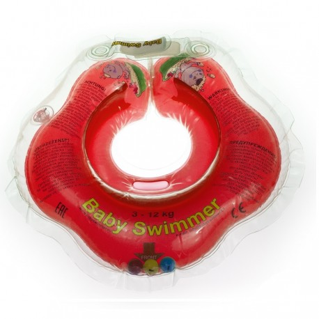 anneau-de-bain-rouge-0-36-mois-avec-hochet